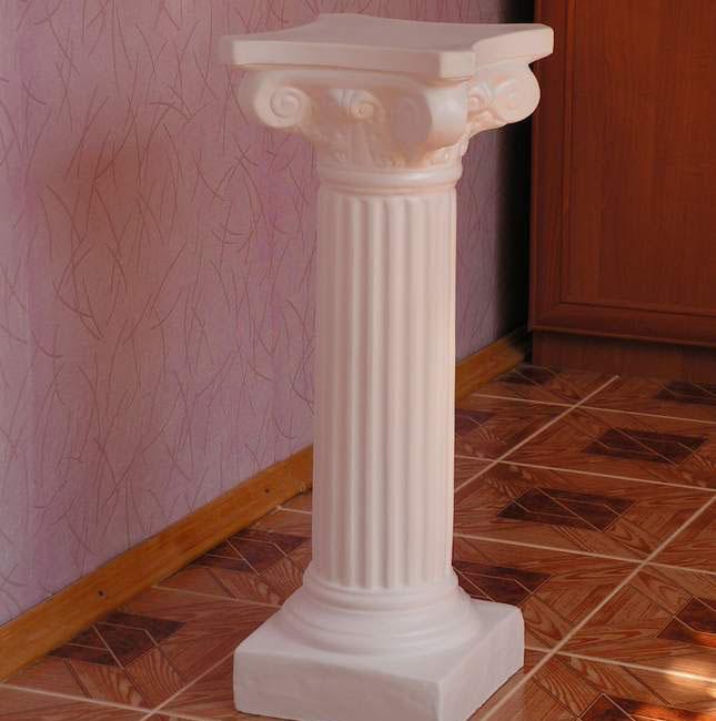 Сделать колонны